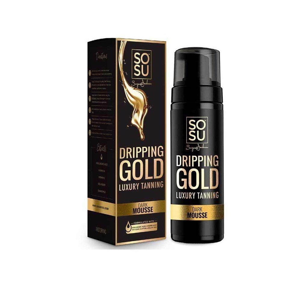 SoSu Dripping Gold Luxury Tanning - Dark Mousse   Essential Beauty Skin & Laser